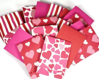 20 Matchbook Notepad  Party Favor  in  Sweethearts Mix