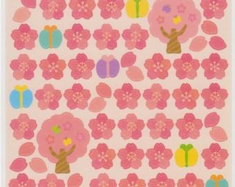 Cherry Blossom Stickers - Sakura Stickers - Kawaii Japanese Stickers - Reference C5920-21C6108-09