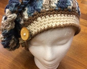 Slouchy Beret Crochet Pattern