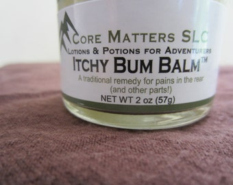 Itchy Bum Balm