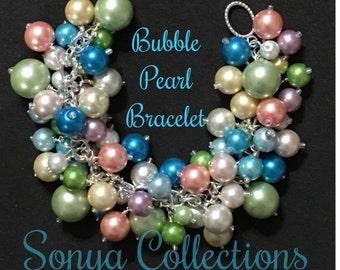 Fat Bubble Pearl Bracelet