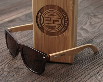 Groomsmen Gift - Personalized Sunglasses Wedding
