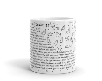 You Might Be a Cat Lover Mug