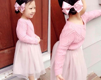 Tutu Skirt (TEA length) and Matching Bow