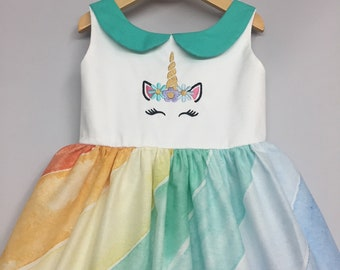 Unicorn girls dress