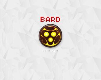 Bard, The Wandering Caretaker (Pin-Back Buttons)