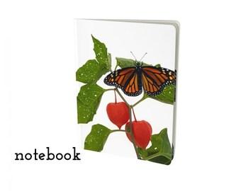 Monarch Butterfly blank notebook - customizable