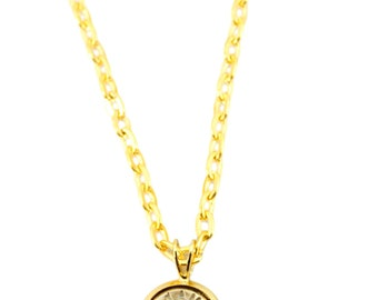 """Bullet """"2nd Amend"""" 9mm Necklace"""