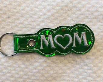 Mom key fob, key ring, key chain, gift for her