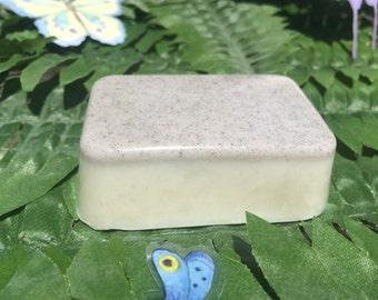Castile Soap, Pumice Orange Blossom 2.8 oz. Soap, All Natural, Exfoliating, Glycerin Soap, Hand Soap