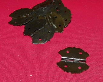 Butterfly Hinges - Black - 10 pieces