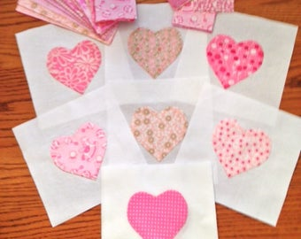 Pink Baby Quilt Top Kit