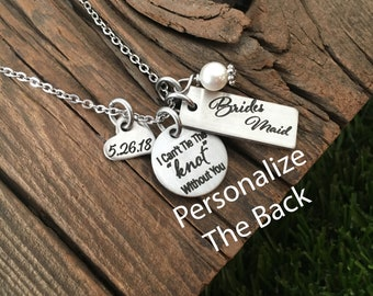 Bridesmaid Pendant Necklace Gift for Bridesmaid Gift Idea For Wedding Gift Wedding Party Jewelry Gift Idea Bridesmaid Necklace Gift