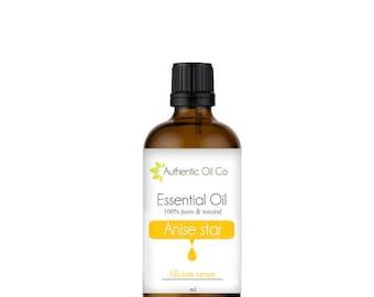Anise star Essential oil 100% Pure 10ml 50ml 100ml