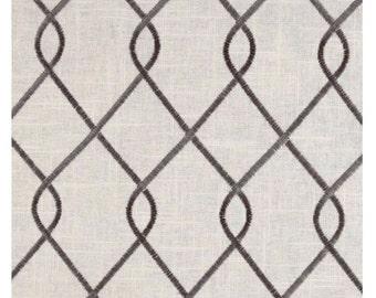 Curtains 2 Curtain Panels Draperies Window Treatments Rico Grey Linen