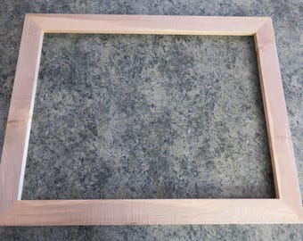 18x24 Curly Maple  Picture Frame