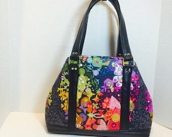 Lotus Ex Libris Art Theory Handbag