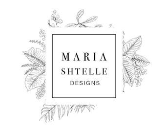 PRE-MADE LOGO, floral logo
