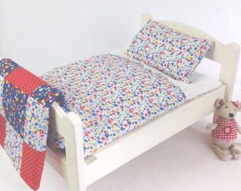 Garden Flowers Dolls Bedding Set