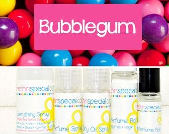 Bubble Gum Bubblegum Perfume, Perfume Spray, Body Spray, Perfume Roll On, Room Spray, Hair Perfume, Dry Oil Spray, 5 Product Choices