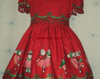 NEW Handmade Patty Reed Ballerina Christmas Dress Deluxe Custom Size