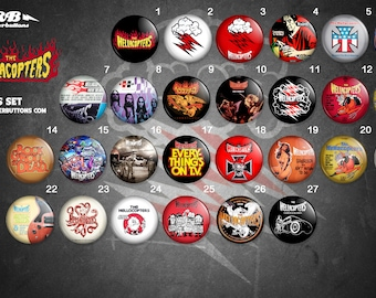 Collection sheets Hellacopters / / Hellacopters button collection