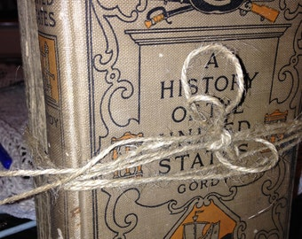 Early 1900 High School History Books (2)