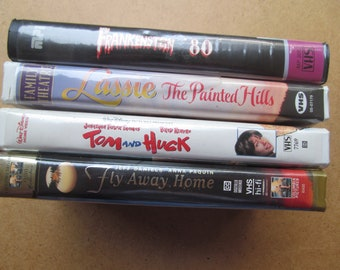 VHS  Tape//Tapes - lot of 4 Sale - Movie-Movies-