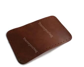 Leather handbag bottom T-moro leather color  HB013