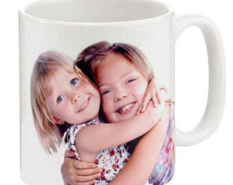 Personalised Mug Photo/Text Print Service