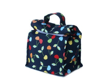 MTO Insulated lunch bag with handle - Cherries
