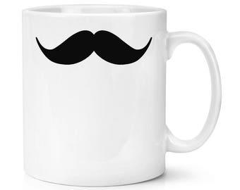 Handlebar Moustache 10oz Mug Cup