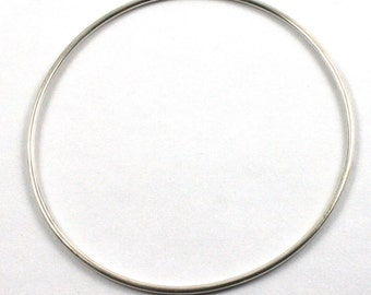 Solid Silver 925 Handmade 1.8mm Personalised Bangle