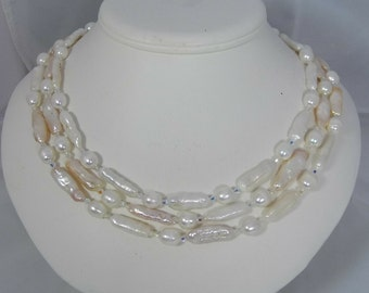 Bridal, Classic Pearl Necklace