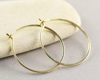 Gold Hoops, Hoop Earrings, Gold Jewelry, Small Hoop Earrings