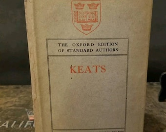 Keats Poetical Works The Oxford Edition of Stanford Authors