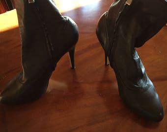 Booties max studio high heel sz 8