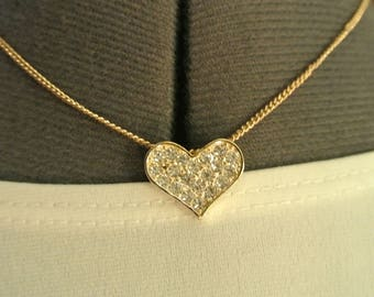 Cute Heart Choker Necklace