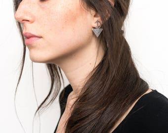 Earrings Silver, Berber Earrings, Tribal Earrings, Earrings Boho, Earrings Bohemian, Bohemian Jewelry, Gypsy Earrings, Ethnic Earring