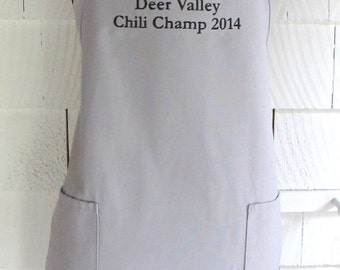 Personalized Crock Pot Apron - Custom Slow Cooker Apron