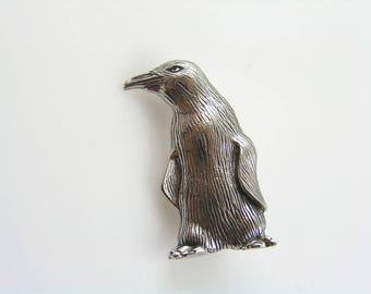 Penguin Brooch, Animal Brooch, Brooch Pin, Silver Brooch, Cute Gift Idea, Lapel Pin, Penguin Gift, Australian Sellers, P330