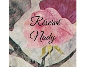 Reserved Nady ceramic Pearl, Pearl, raku pottery, green, Bohemian, X 2
