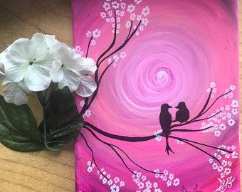 Fine Art Canvas Mini 8x10 Love Abstract Canvas