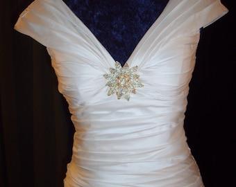 Silk Dupioni Wedding Dress