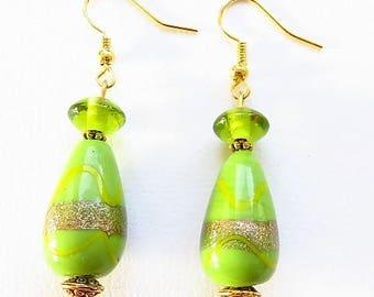 Apple green earrings 17622 earring