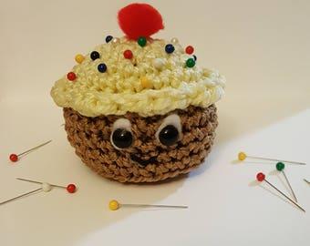 Kawaii Cupcake Pin Cushion