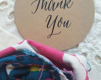 Printed Favor Tags    Thank You Tags    Thank You   Printed Favor Tags   Thank You COLLECTION - 100 Tags - Style T03