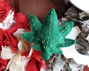Weed Cat OR Dog Toy (w/ bell and catnip OR squeaker)