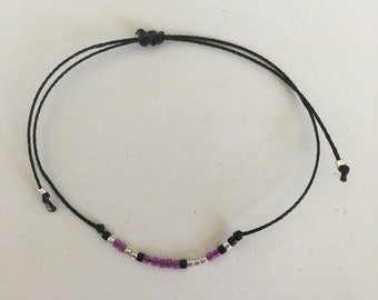 "Morse code bracelet ""Love"""