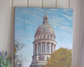 Oil painting Art oil on canvas original signed  canvas  farmhouse style decor